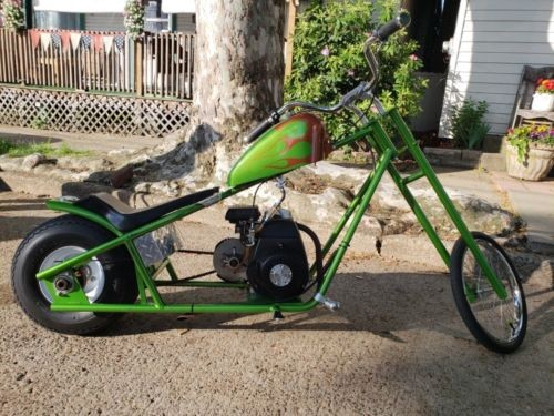 2016 Custom Built Motorcycles Chopper Lime Green photo