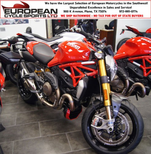 2016 Ducati Monster RED photo