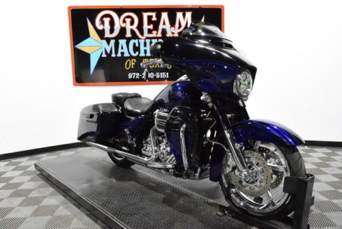 2016 Harley-Davidson FLHXSE – Screamin Eagle Street Glide CVO — Black for sale craigslist