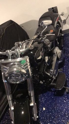 2016 Harley-Davidson FLSTF – Softail Fat Boy — Black for sale craigslist