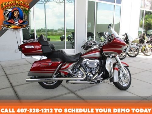 2016 Harley-Davidson FLTRUSE – CVO™ Road Glide Ultra® — Red for sale craigslist