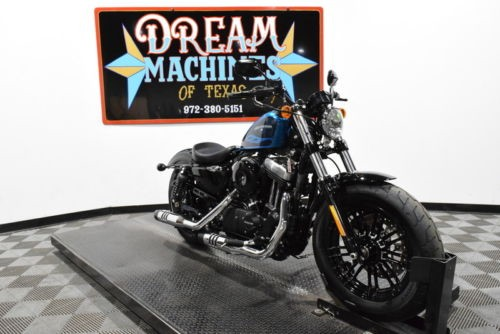 2016 Harley-Davidson XL1200X – Sportster Forty-Eight — Blue for sale