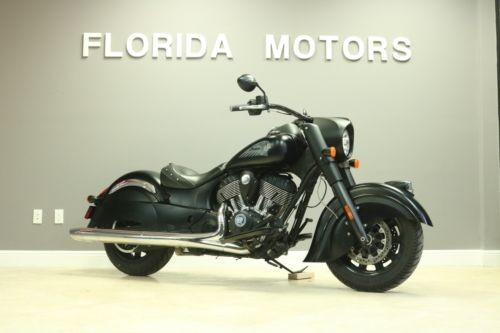 2016 Indian CHIEF DARK HORSE Black photo
