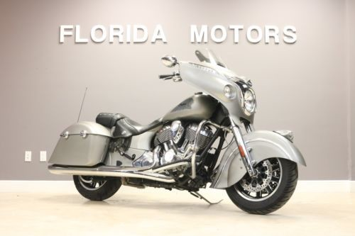 2016 Indian CHIEFTAIN Silver photo