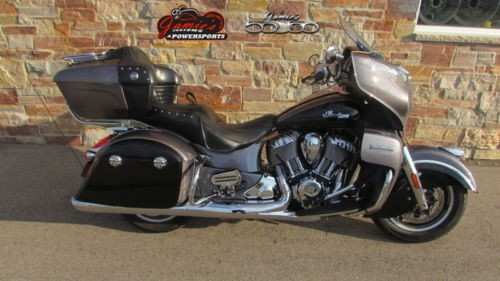 2016 Indian Roadmaster® Steel Gray and Thunder Black Black for sale craigslist