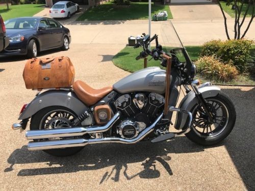 2016 Indian Scout 69 Silver photo