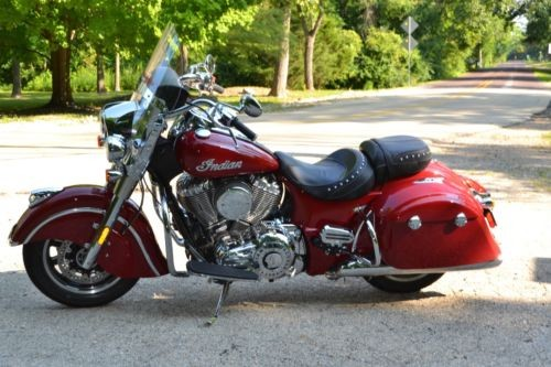 2016 Indian SpringField Red photo