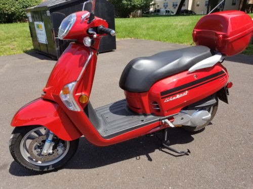 2016 Kymco Like 200i Red photo