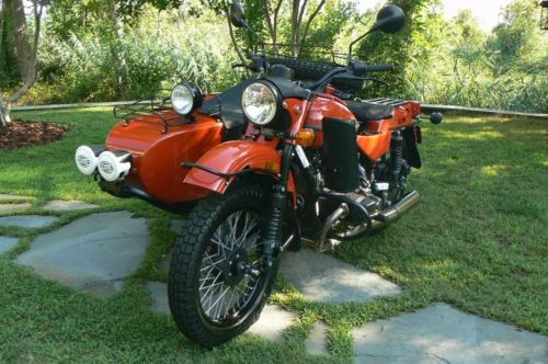 2016 Ural Gear Up 2WD Terracotta photo