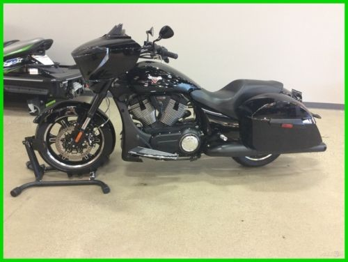 2016 Victory Cross Country 8 BALL (74 Miles, Price Reduced) Black for sale