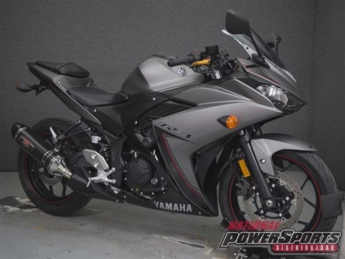 2016 Yamaha YZF R3 300 MATTE GRAY photo