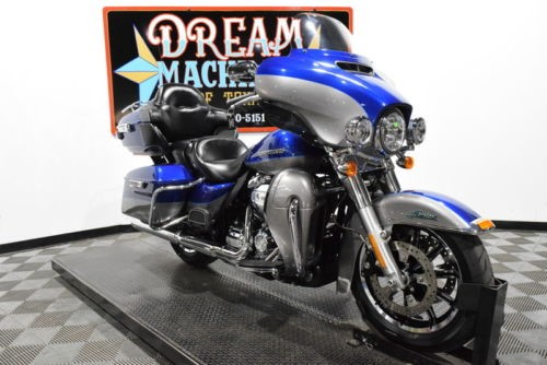 2017 Harley-Davidson FLHTK - Ultra Limited -- Blue photo