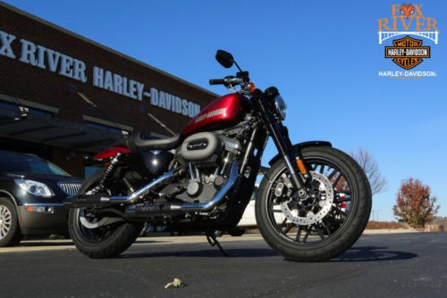 2017 Harley-Davidson Sportster 1200 ROADSTER XL1200 Red photo