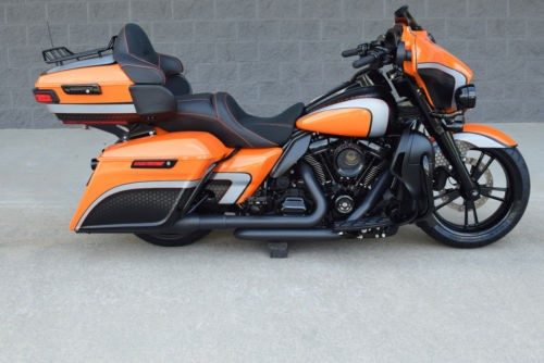 2017 Harley-Davidson Touring BLACK & ORANGE for sale