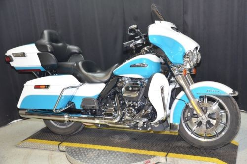 2017 Harley-Davidson Touring Crushed Ice Pearl/Frosted Teal Pearl craigslist
