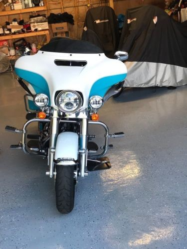 2017 Harley-Davidson Touring Crushed ice pearl and frosted teal pearl for sale craigslist