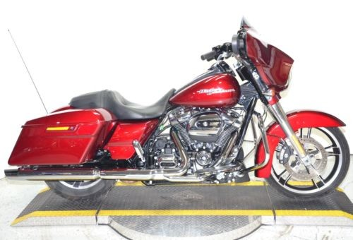 2017 Harley-Davidson Touring Velocity Red Sunglo for sale
