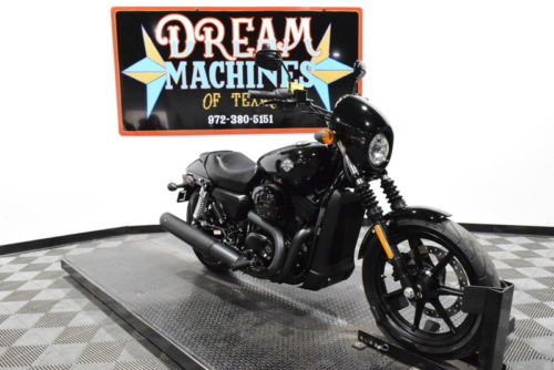 2017 Harley-Davidson XG500 – Street 500 — Black for sale craigslist