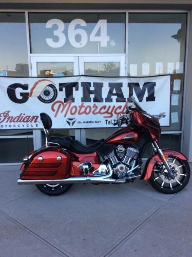 2017 Indian CHIEFTAIN LIMITED Burgundy photo