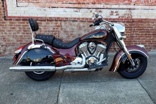 2017 Indian Chief® Classic -- Black photo