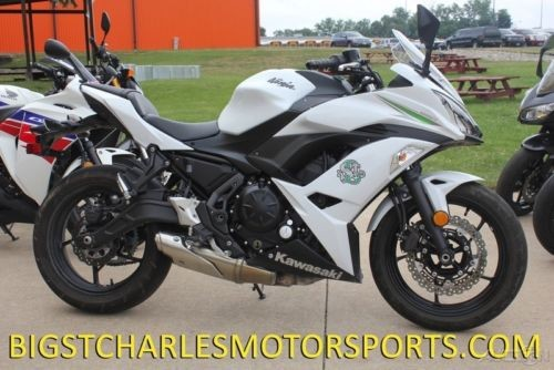 2017 Kawasaki Ninja Pearl Blizzard White photo