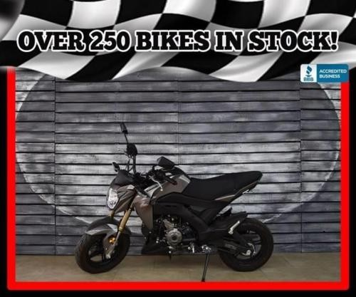 2017 Kawasaki Z125 Pro — Gray for sale