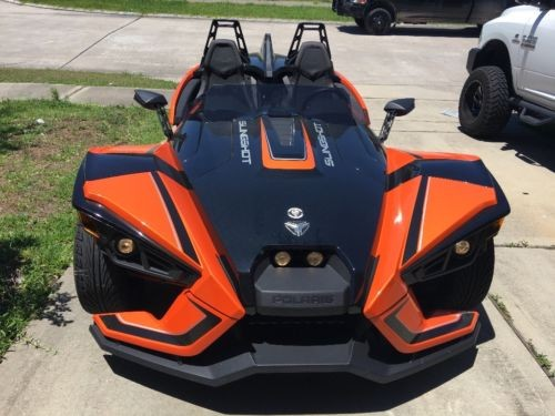 2017 Polaris Slingshot SLR Orange photo