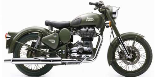 2017 Royal Enfield Classic 500 Green photo