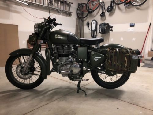 2017 Royal Enfield Classic C5 Green photo
