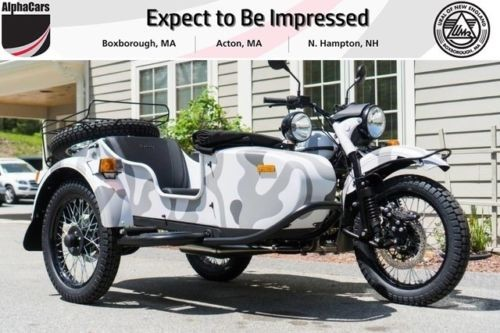 2017 Ural Gear Up 2WD Urban Camouflage Custom Urban Camouflage photo