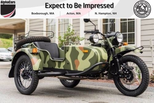 2017 Ural Gear Up 2WD Woodland Custom Woodland Camouflage photo