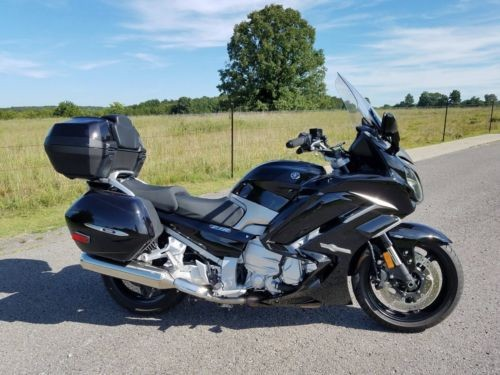 2017 Yamaha FJR Black photo