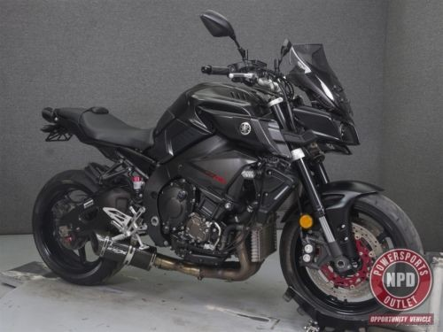 2017 Yamaha FZ 10 1000 MATTE RAVEN BLACK photo