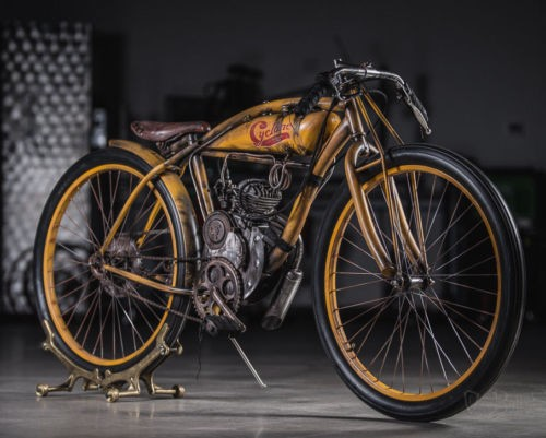 2018 Custom Built Motorcycles Board track racer Yellow photo