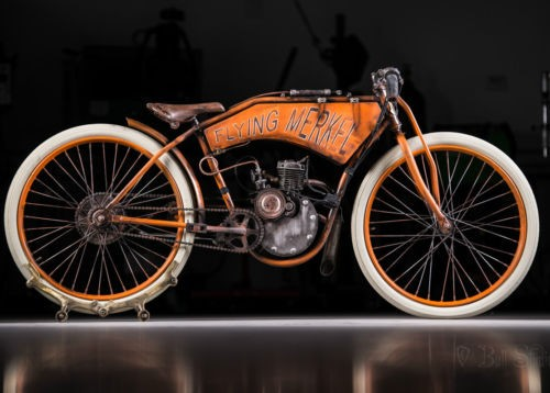 2018 Custom Built Motorcycles board track racer Orange photo