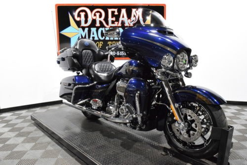 2018 Harley-Davidson FLHTKSE - Screamin Eagle Limited CVO 115th Anniver -- Blue photo