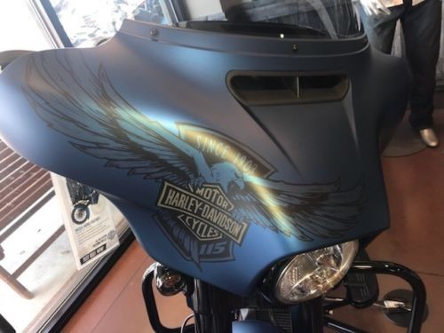 2018 Harley-Davidson Touring Blue photo