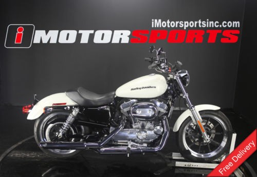 2018 Harley-Davidson XL883L – Sportster® SuperLow® — White for sale craigslist