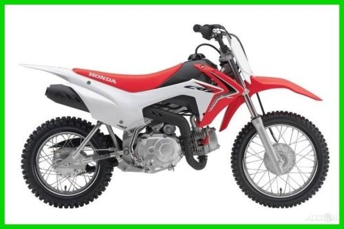 2018 Honda CRF 110F Red photo