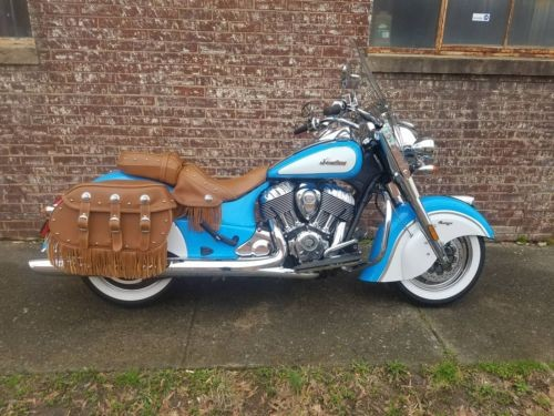 2018 Indian Chief® Vintage ABS -- Blue photo