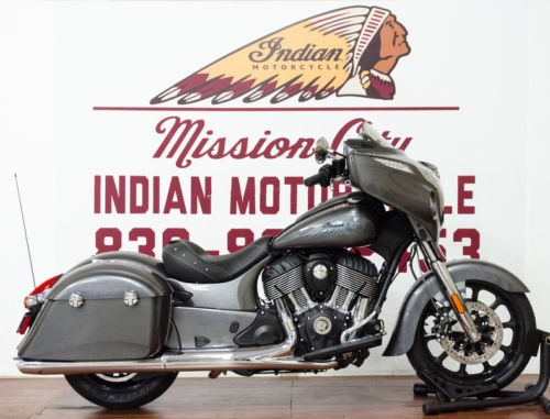 2018 Indian Chieftain® ABS Steel Gray — Gray for sale craigslist