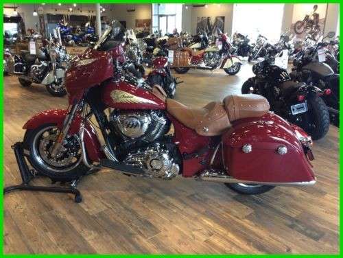 2018 Indian Chieftain® Indian Red photo