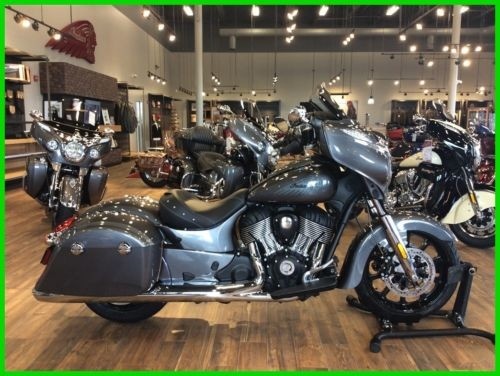 2018 Indian Chieftain® Steel Gray photo