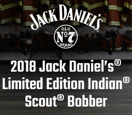2018 Indian Jack Daniel's Limited Edition Indian Scout Bobber Black photo