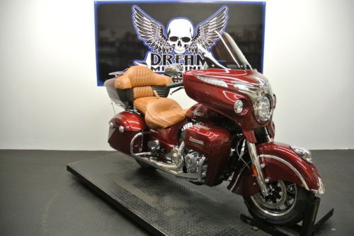 2018 Indian Roadmaster ABS Burgundy Metallic -- Burgundy photo