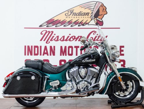 2018 Indian Springfield® ABS Metallic Jade over Thunder Black — Black craigslist