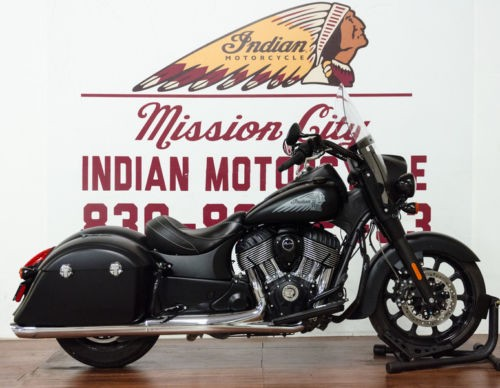 2018 Indian Springfield® Dark Horse® ABS Thunder Black Smoke — Black craigslist