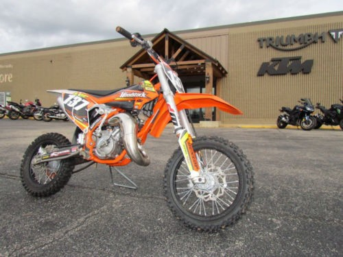 2018 KTM SX 65SX Orange photo