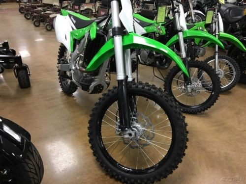 2018 Kawasaki KX™250F Green photo
