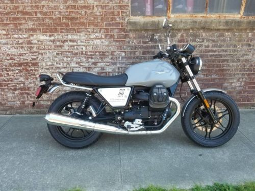 2018 Moto Guzzi V7 III Milano — Gray for sale craigslist